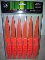 Набор ножей с керамическим покрытием из 6шт