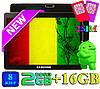 Планшет Игровой 10 дюймов SAMSUNG KT -8-ми Ядерный андроид ОЗУ 2 Гб 16 Гб IPS 3G GPS OTG Wi Fi 2 sim + Чехол