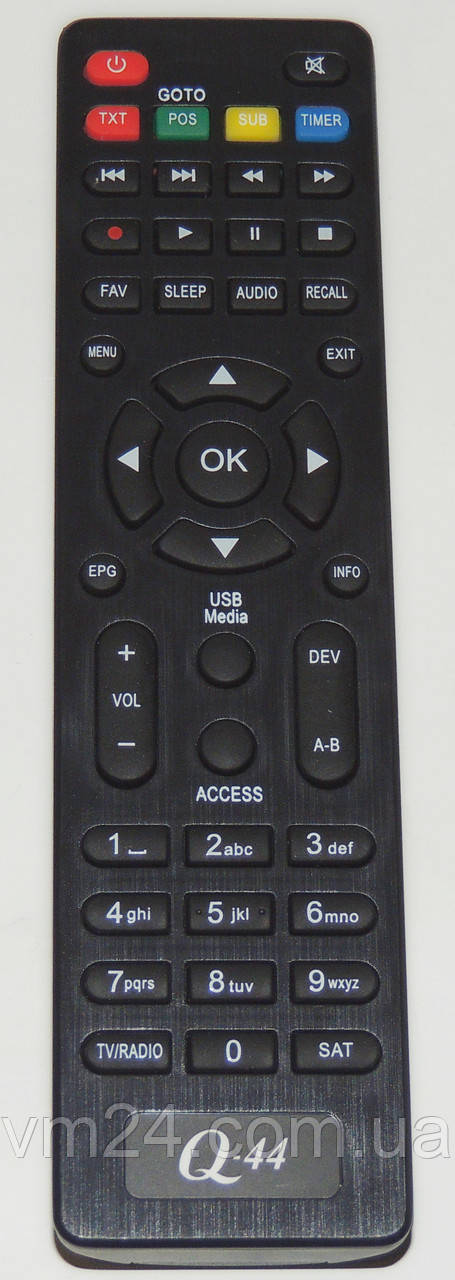 Пульт HD Qsat Q-44\Q-45