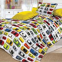 Комплект постельного белья Автомобили Коллекция подростковый