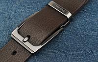 Мужской кожаный ремень. Модель 2146, фото 2