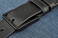 Мужской кожаный ремень. Модель 2146, фото 3