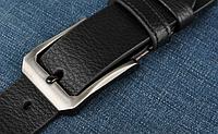 Мужской кожаный ремень. Модель 2146, фото 6