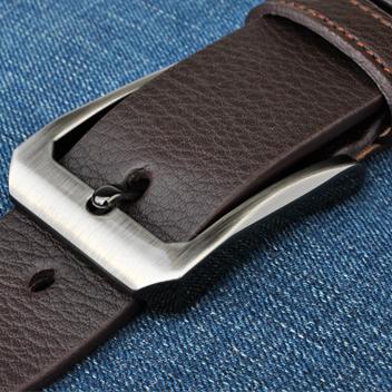 Мужской кожаный ремень. Модель 2146