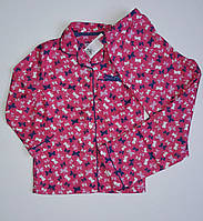 Пижама для девочек в бабочки розовая от Primark