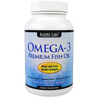 Рыбий жир премиум класса omega 3 premium fish oil 100 капсул