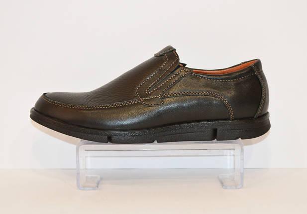 Мужские кожаные туфли Konors 631/7, фото 2