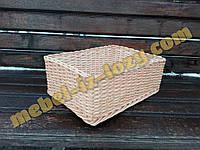 Плетеный лоток для фруктов и овощей h15- 40х30