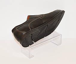 Мужские кожаные туфли Konors 631/7, фото 3