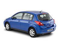 Авточехол наNissan Tiida hatchback  c 2004-2012