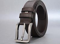 Мужской кожаный ремень. Модель 2147, фото 4
