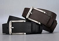 Мужской кожаный ремень. Модель 2147, фото 2