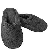 Махрові тапочки Pera від Hamam dark grey розмір 42-43