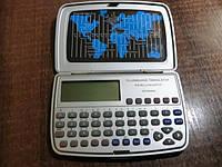 Электронный переводчик 12 языков, евро-конвертер, датабанк, мировое время