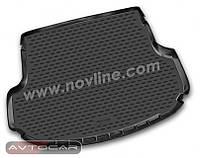 Коврик в багажник KIA SORENTO с 2013- , 5 мест , цвет:черный ,производитель NovLine