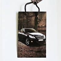 Подарочный пакет Мини 9х12х3,5 Машина