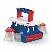 "Детский стол с 2 стульями для творчества ""CREATIVE PROJECTS Step2 41379"