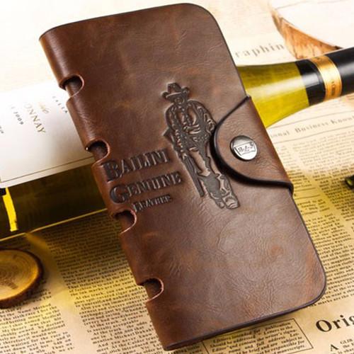 Мужской бумажник клатч Bailini Long