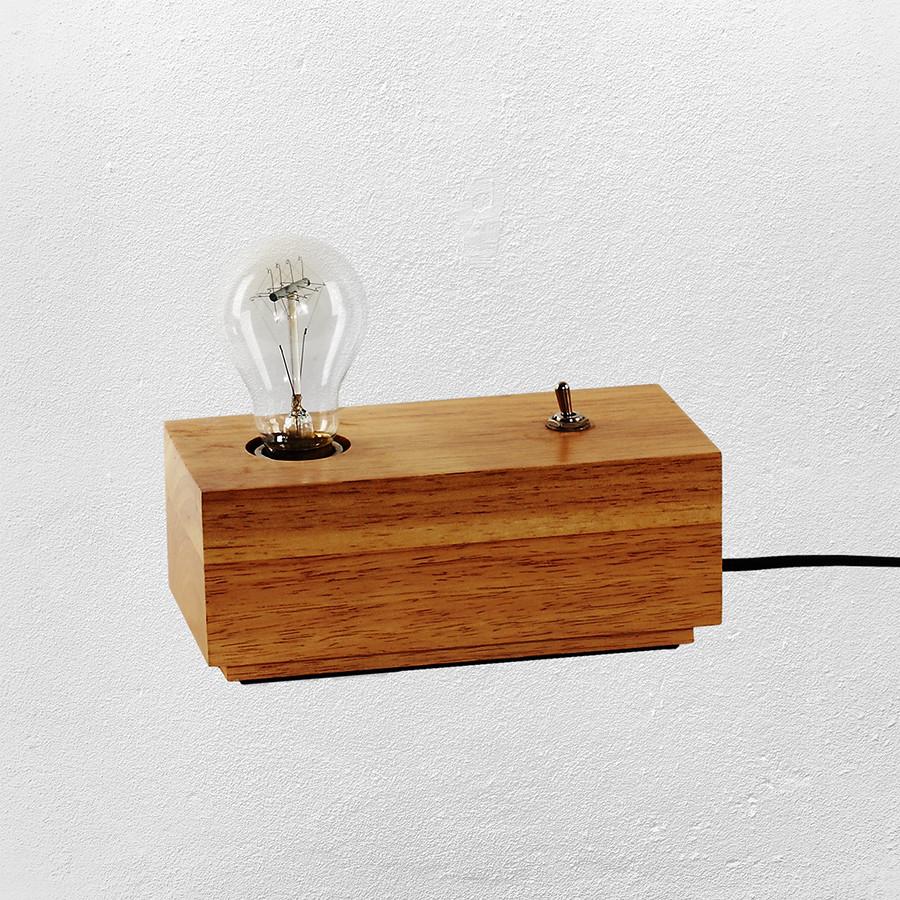 Настольная лампа св стиле лофт ( модель 20-81469-1 WOOD)
