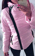 Женская демисезонная куртка из качественной плащевки
