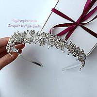 """Красивая диадема  """"Белла"""" для невесты или на выпускной."""