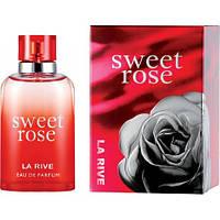 Женская парфюмированая вода 90 мл La Rive SWEET ROSE 232103