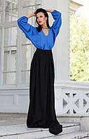 Пышная длинная юбка в пол на каждый день