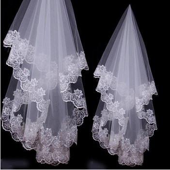 фата невесты кружевная amourshop