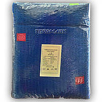 Двуспальный комплект белья - жатка -  Синий