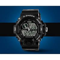 Часы наручные спортивные Skmei 1029 Black / кварцевые часы