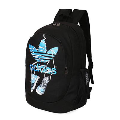 Спортивный рюкзак Adidas черный с кедами (реплика)