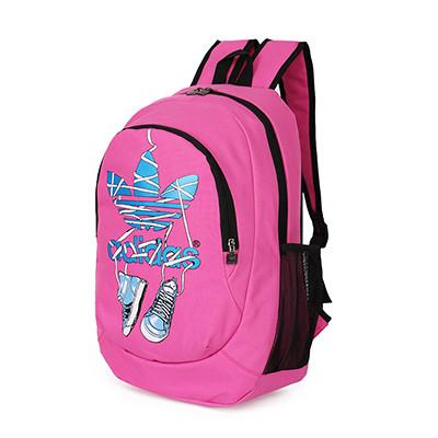 Рюкзак Adidas розовый с кедами (реплика)