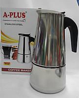 Кофеварка гейзерная А-Плюс СМ 2089, фото 1