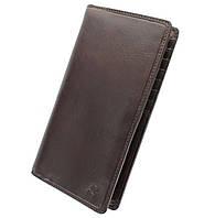 Кожаный кошелек Visconti TSC45 Carrara коричневый