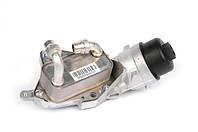 Корпус (стакан) масляного фильтра в сборе с фильтром и теплообменником (маслоохладителем, охладителем масла двигателя) GM 0650184 0650066 0650062