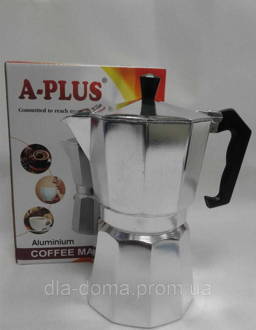 Кофеварка гейзерная А-Плюс СМ 2082