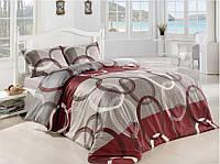 Семейное постельное бельё ранфорс  ALTINBASAK Fiori bordo