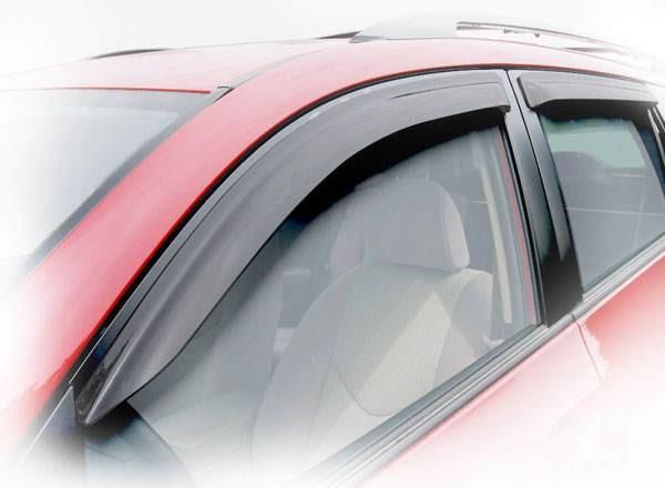 Дефлекторы окон (ветровики) Fiat Doblo 2010 -> (вставные)