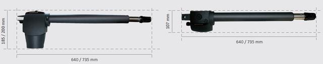 Габаритные размеры G-BAT 400