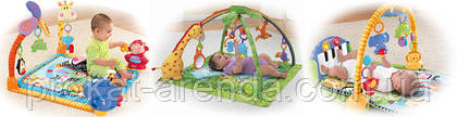 Детский развивающий коврик для малыша напрокат в  киеве.