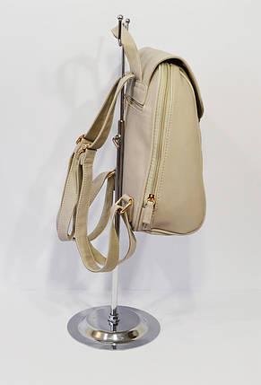 Рюкзак женский светло-серый 3371, фото 2
