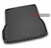 Коврик в багажник NISSAN Pathfinder с 2014- , цвет: черный , производитель NovLine
