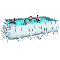 Каркасный бассейн Bestway 56466 (549*274*122см) с фильтр-насосом