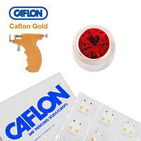 Серьги для прокола ушей Caflon Гранат 3 мм