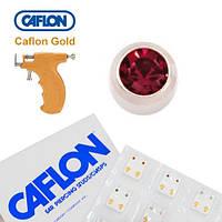 Серьги для прокола ушей Caflon Гранат 2 мм