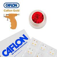 Серьги для прокола ушей Caflon Рубин 3 мм
