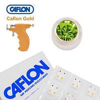 Серьги для прокола ушей Caflon Перидот 2 мм