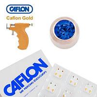 Серьги для прокола ушей Caflon Сапфир 3 мм