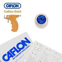 Серьги для прокола ушей Caflon Сапфир 2 мм
