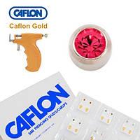 Серьги для прокола ушей Caflon Розовый цирконий 3 мм